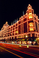 Harrod's Department Store, Knightsbridge, London, England.