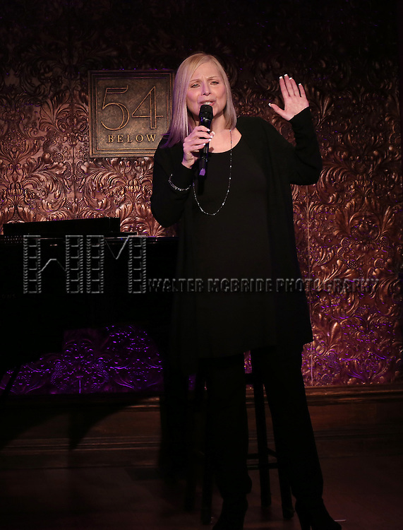"""Roslyn Kind performs A Special Press Preview of her upcoming show """"It's Been a While""""  at 54 Below on April 4, 2014 in New York City."""
