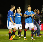 James Tavernier leads the laughs at full time