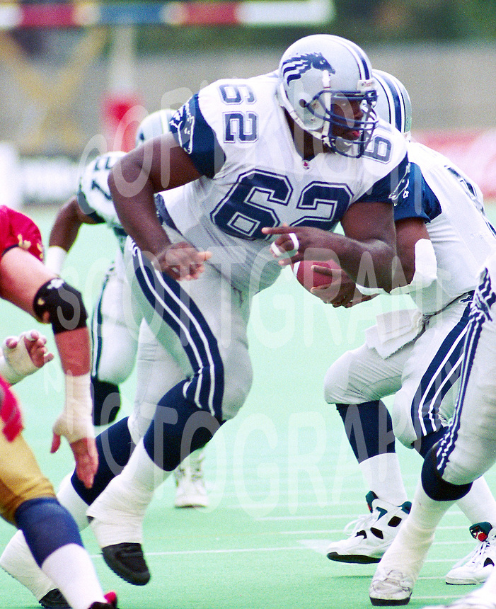 Keith Ballard Baltimore Stallions 1994. Photo John Bradley