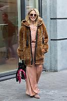Kylie Minogue leaves her hôtel in Brussels - Exclu - Belgium