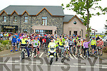 Hundreds show their support for the RNLI Life Boat Charity Cycle Run from O'Donnells Bar and Restaurant, Mounthawk Tralee on Saturday morning .................................... ....