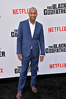 "LOS ANGELES, USA. June 04, 2019: Alexander Devore Avant at the premiere for ""The Black Godfather"" at Paramount Theatre.<br /> Picture: Paul Smith/Featureflash"