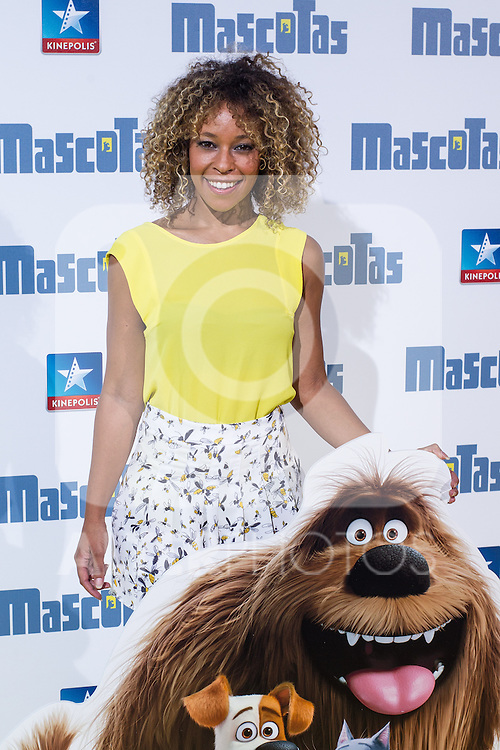 Guest during the premiere of  Mascotas at Kinepolis cinema in Madrid. July 21, 2016. (ALTERPHOTOS/Rodrigo Jimenez)