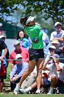 Gerina Piller (USA) watches her tee shot on 10 during round 1 of  the Volunteers of America Texas Shootout Presented by JTBC, at the Las Colinas Country Club in Irving, Texas, USA. 4/27/2017.<br /> Picture: Golffile | Ken Murray<br /> <br /> <br /> All photo usage must carry mandatory copyright credit (&copy; Golffile | Ken Murray)