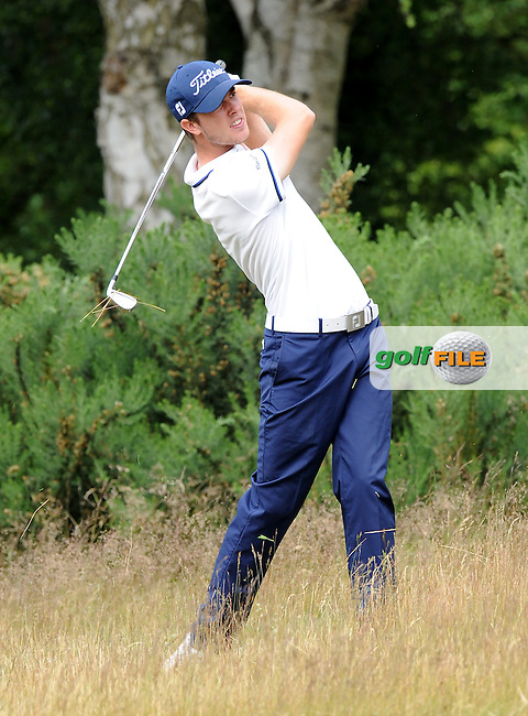Joris Etlin of France during the Second Round of The Brabazon Trophy 2015 at Notts Golf Club, Nottingham, England. Picture: Golffile | Richard Martin-Roberts<br /> All photo usage must carry mandatory copyright credit (&copy; Golffile | Richard Martin- Roberts)