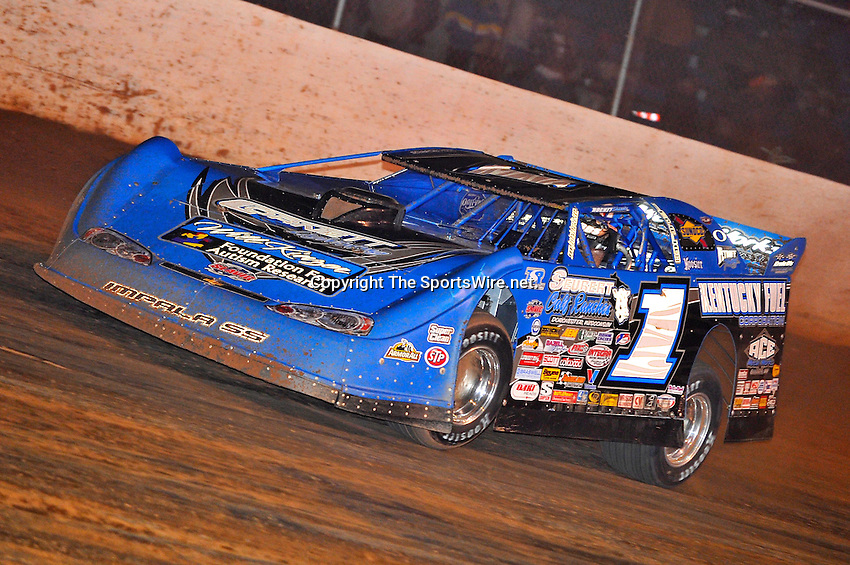 Oct 16, 2010; 10:27:50 PM;Mineral Wells,WV ., USA; The 30th Annual Dirt Track World Championship dirt late models 50,000-to-win event at the West Virginia Motor Speedway.  Mandatory Credit: (thesportswire.net)