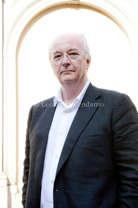 Philip Pullman, writer inglish, 2910 Milan,  © Leonardo Cendamo