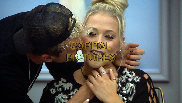 Celebrity Big Brother 2017<br /> Sam Thompson and Amelia Lily.<br /> *Editorial Use Only*<br /> CAP/KFS<br /> Image supplied by Capital Pictures