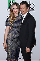BEVERLY HILLS, CA - OCTOBER 21: Julie Delpy, Ethan Hawke at 17th Annual Hollywood Film Awards held at The Beverly Hilton Hotel on October 21, 2013 in Beverly Hills, California. (Photo by Xavier Collin/Celebrity Monitor)