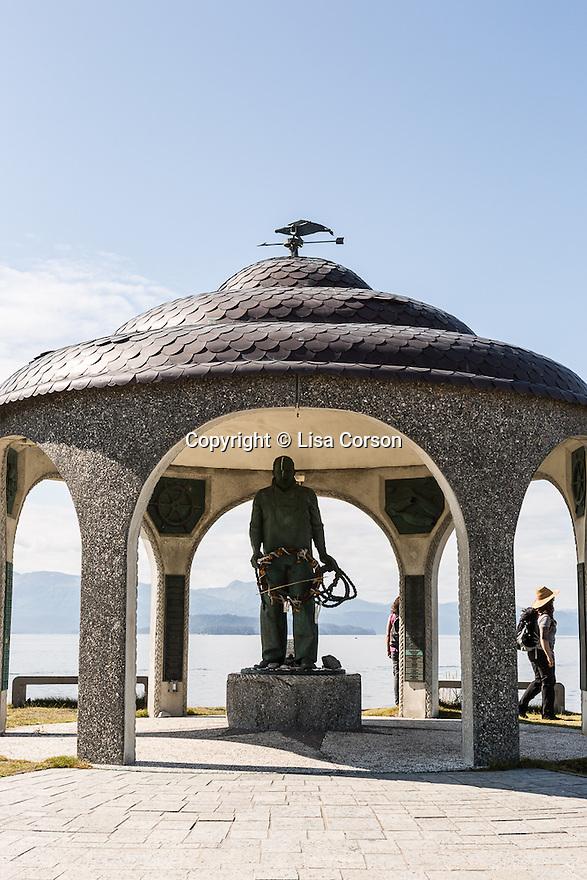 Seafarer's Memorial. Homer, Alaska.