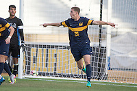 BERKELEY, CA - October 13, 2016: Joshua Morton celebrates scoring a goal. Cal played UCLA at Edwards Stadium.