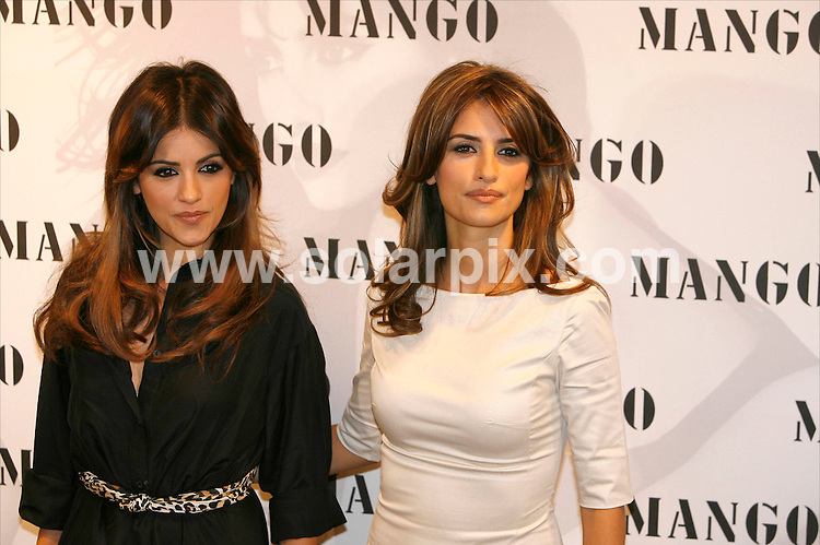 **ALL ROUND PICTURES FROM SOLARPIX.COM**.SYNDICATION RIGHTS FOR UK, CANADA, USA, SOUTH AFRICA, SOUTH AMERICA, DUBAI, AUSTRALIA, NEW ZEALAND, GREECE, ASIA.Penelope and Monica Cruz in Madrid presenting  their fashion collection for Mango. .This pic:PENELOPE CRUZ,MONICA CRUZ.JOB REF:5946-SPA     DATE:13_03_08.**MUST CREDIT SOLARPIX.COM OR DOUBLE FEE WILL BE CHARGED* *UNDER NO CIRCUMSTANCES IS THIS IMAGE TO BE REPRODUCED FOR ANY ONLINE EDITION WITHOUT PRIOR PERMISSION*