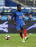 France's Samuel Umtiti in action during the Friendly match at Stade De France Stadium, Paris Picture date 13th June 2017. Picture credit should read: David Klein/Sportimage