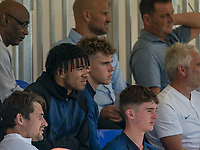 Reece James during the UEFA Youth League match between Chelsea U19 and Valencia Juvenil A at the Chelsea Training Ground, Cobham, England on 17 September 2019. Photo by Andy Rowland.