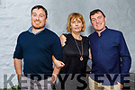 Gene Dennehy, Denise Dunworth and Vincent Dennehy enjoying the evening in Cassidys on Friday.