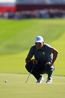Raffa Cabrers-Bello (Team Europe) during Sunday Singles matches at the Ryder Cup, Hazeltine National Golf Club, Chaska, Minnesota, USA. 02/10/2016<br /> Picture: Golffile | Fran Caffrey<br /> <br /> <br /> All photo usage must carry mandatory copyright credit (&copy; Golffile | Fran Caffrey)