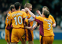 11/03/2006         Copyright Pic: James Stewart.File Name : sct_jspa15_motherwell_v_falkirk.RICHIE FORAN CELEBRATES AFTER HE SCORES THE SECOND FOR MOTHERWELL....Payments to :.James Stewart Photo Agency 19 Carronlea Drive, Falkirk. FK2 8DN      Vat Reg No. 607 6932 25.Office     : +44 (0)1324 570906     .Mobile   : +44 (0)7721 416997.Fax         : +44 (0)1324 570906.E-mail  :  jim@jspa.co.uk.If you require further information then contact Jim Stewart on any of the numbers above.........