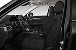 Front seat view of a 2017 Mazda CX-5 Sport 5 Door SUV front seat car photos