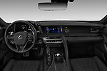 Stock photo of straight dashboard view of a 2018 Lexus RX 350L 4x2 Select Doors Door SUV