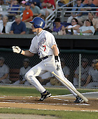 August 9, 2004:  Ryan Klosterman of the Auburn Doubledays, Short-Season Single-A affiliate of the Toronto Blue Jays, during a game at Falcon Park in Auburn, NY.  Photo by:  Mike Janes/Four Seam Images
