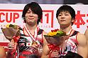 (L to R) Kohei Uchimura (JPN), Koji Yamamuro (JPN), JULY 2nd, 2011 - Artistic gymnastics : Japan Cup 2011 Men's Team Competition Victory Ceremony at Tokyo Metropolitan Gymnasium, Tokyo, Japan. (Photo by YUTAKA/AFLO SPORT)