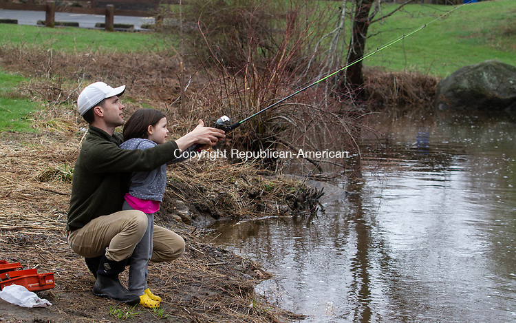 HOPBROOK OPENING DAY FISHING | Republican American Photos