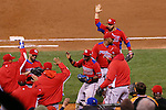 Puerto Rico team group (PUR), .MARCH 17, 2013 - WBC : .World Baseball Classic 2013 .Championship Round .Semifinal 1 .between Puerto Rico 3-1 Japan .at AT&T Park in San Francisco, California, United States. .(Photo by YUTAKA/AFLO SPORT)