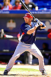 17 March 2007: Washington Nationals catcher Brian Schneider in action against the New York Mets at Tradition Field in Port St. Lucie, Florida...Mandatory Photo Credit: Ed Wolfstein Photo