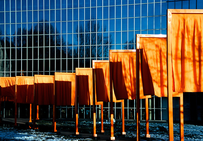 Gates by Cristo and Jeanne-Claude, Central Park, New York City