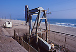 Oil well at Huntington Beach