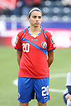 24 October 2014: Wendy Acosta (CRC). The Costa Rica Women's National Team played the Trinidad & Tobago Women's National Team at PPL Park in Chester, Pennsylvania in a 2014 CONCACAF Women's Championship semifinal game, which serves as a qualifying tournament for the 2015 FIFA Women's World Cup in Canada. Costa Rica advanced to the championship game, and qualified for next year's Women's World Cup, by winning the penalty shootout 3-0 after the game ended in a 1-1 tie after double overtime.