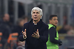 Gian Piero Gasperini Head coach of Atalanta during the Serie A match at Giuseppe Meazza, Milan. Picture date: 11th January 2020. Picture credit should read: Jonathan Moscrop/Sportimage