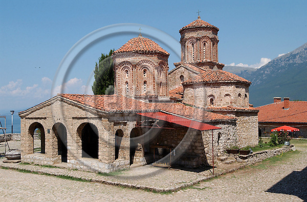 St. Naum-Ohrid-Macedonia - August 04, 2004---Church of the monastery St. Naum; culture-religion---Photo: Horst Wagner/eup-images