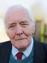Tony Benn, former MP and  writer  at The Oxford Literary Festival at Christchurch College Oxford  . Credit Geraint Lewis