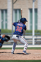 Minnesota Twins Jean Carlos Arias (32) during a Minor League Spring Training game against the Tampa Bay Rays on March 15, 2018 at CenturyLink Sports Complex in Fort Myers, Florida.  (Mike Janes/Four Seam Images)