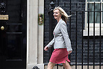© Joel Goodman - 07973 332324 . 11/05/2015 . London , UK . LIZ TRUSS arrives at 10 Downing Street this afternoon (11th May 2015) . Photo credit : Joel Goodman