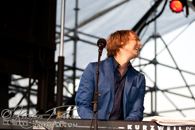 Eric Hutchinson performs at the Life is Good Festival on September 22, 2012 in Canton, Massachusetts (C) Kristen Pierson