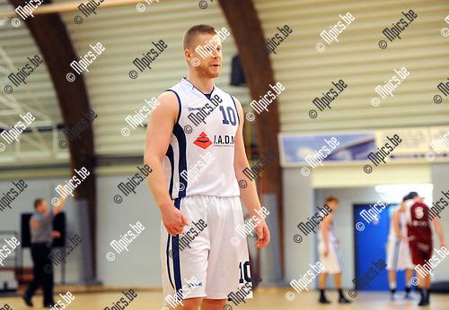 2014-10-26 / Basketbal / seizoen 2014-2015 / Pitzemburg /  Jens Vinck<br /><br />Foto: mpics.be