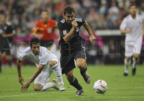 13 08 2010  Miroslav Klose FCB . Franz Beckenbauer Farewell Game Bayern Munich versus Real Madrid.