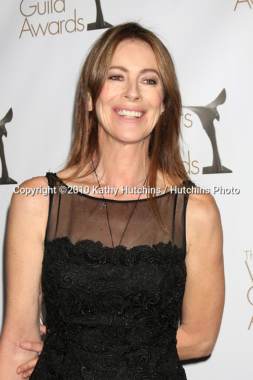 Kathryn Bigelow.arriving at 2010 Writers Guild of America Awards.Century Plaza Hotel.Century City, CA.February 20, 2010.©2010 Kathy Hutchins / Hutchins Photo....