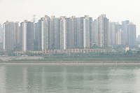 Commercial Real Estate Development Next To The Jialing River In Chongqing, China.  © LAN