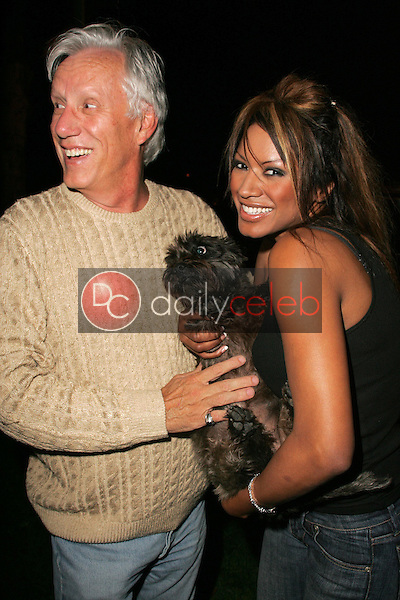 Traci Bingham and James Woods<br />