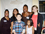 Rhonda Ross (Another World), Alan, Deborah Koenigsberger (founder Hearts of Gold), Tessa Schorsh (honoree) - Learning Center at Semiperm for the ribbon cutting ceremony was held on March 09, 2016 in New York, New York - Manhattan's Upper West Side - Deborah Koenigsberger, Rhonda Ross and Hearts of Gold (Photo by Sue Coflin/Max Photos)