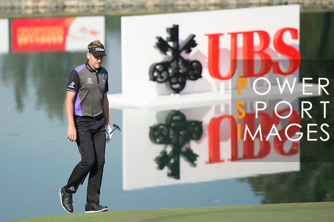 Ian Poulter of England during the 58th UBS Hong Kong Open as part of the European Tour on 08 December 2016, at the Hong Kong Golf Club, Fanling, Hong Kong, China. Photo by Marcio Rodrigo Machado / Power Sport Images