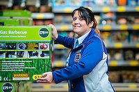 Thursday  28 July 2014<br /> Pictured: Store Deputy Manager Sarah Williams<br /> Re: ALDI Merthyr Tydfill Grand Re-opening