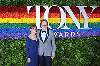 09 June 2019 - New York, NY - Robin Dearden and Bryan Cranston. 73rd Annual Tony Awards 2019 held at Radio City Music Hall in Rockefeller Center. Photo Credit: LJ Fotos/AdMedia