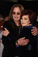 Ozzy Osbourne, Sharon Osbourne<br /> The Pride Of Britain Awards at Grosvenor House Hotel, on October 30, 2017 in London, England. <br /> CAP/PL<br /> &copy;Phil Loftus/Capital Pictures /MediaPunch ***NORTH AND SOUTH AMERICAS ONLY***