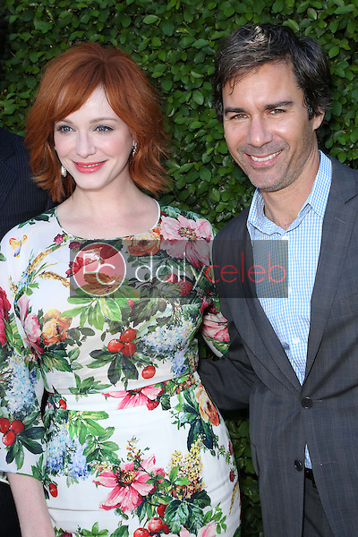 Christina Hendricks, Eric McCormack<br />