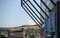 A general view of Turf Moor<br /> <br /> Photographer Alex Dodd/CameraSport<br /> <br /> UEFA Europa League - Europa League Qualifying Round 2 2nd Leg - Burnley v Aberdeen - Thursday 2nd August 2018 - Turf Moor - Burnley<br />  <br /> World Copyright © 2018 CameraSport. All rights reserved. 43 Linden Ave. Countesthorpe. Leicester. England. LE8 5PG - Tel: +44 (0) 116 277 4147 - admin@camerasport.com - www.camerasport.com